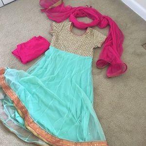 Dresses & Skirts - Princess Jasmine Indian Dress